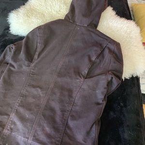 Carhartt Sherpa lined size small women's jacket